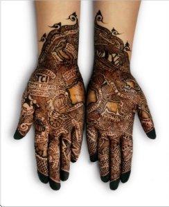 Mis manos son un cuadro. No sé dónde colgarlas...